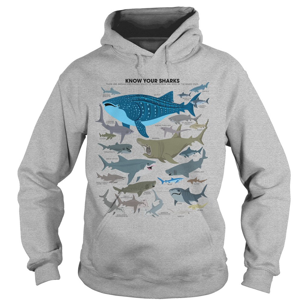 Know Sharks Hoodie