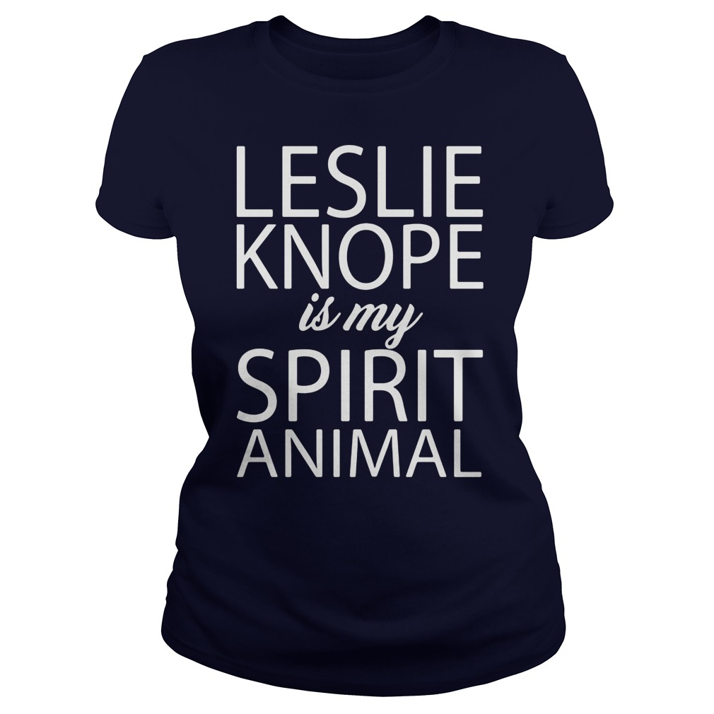 Leslie Knope Spirit Animal Ladies