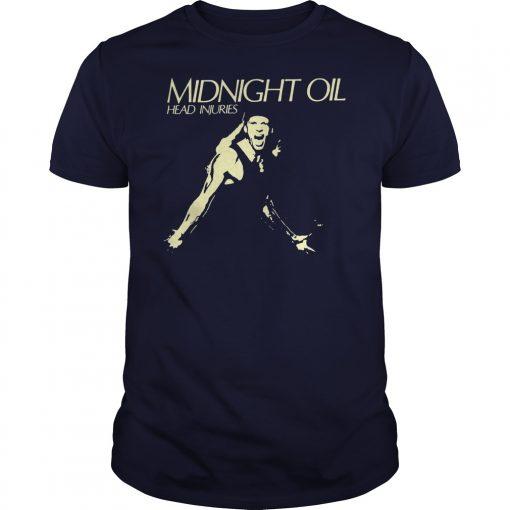 Midnight Oil Head Injuries Shirt