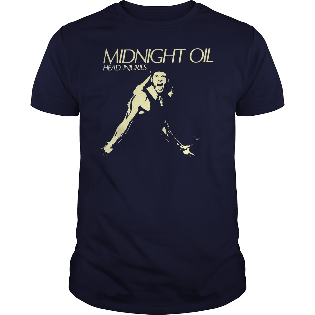 Midnight Oil Head Injuries Shirt
