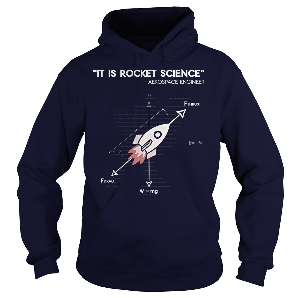 Nasa Actually Rocket Science Hoodie