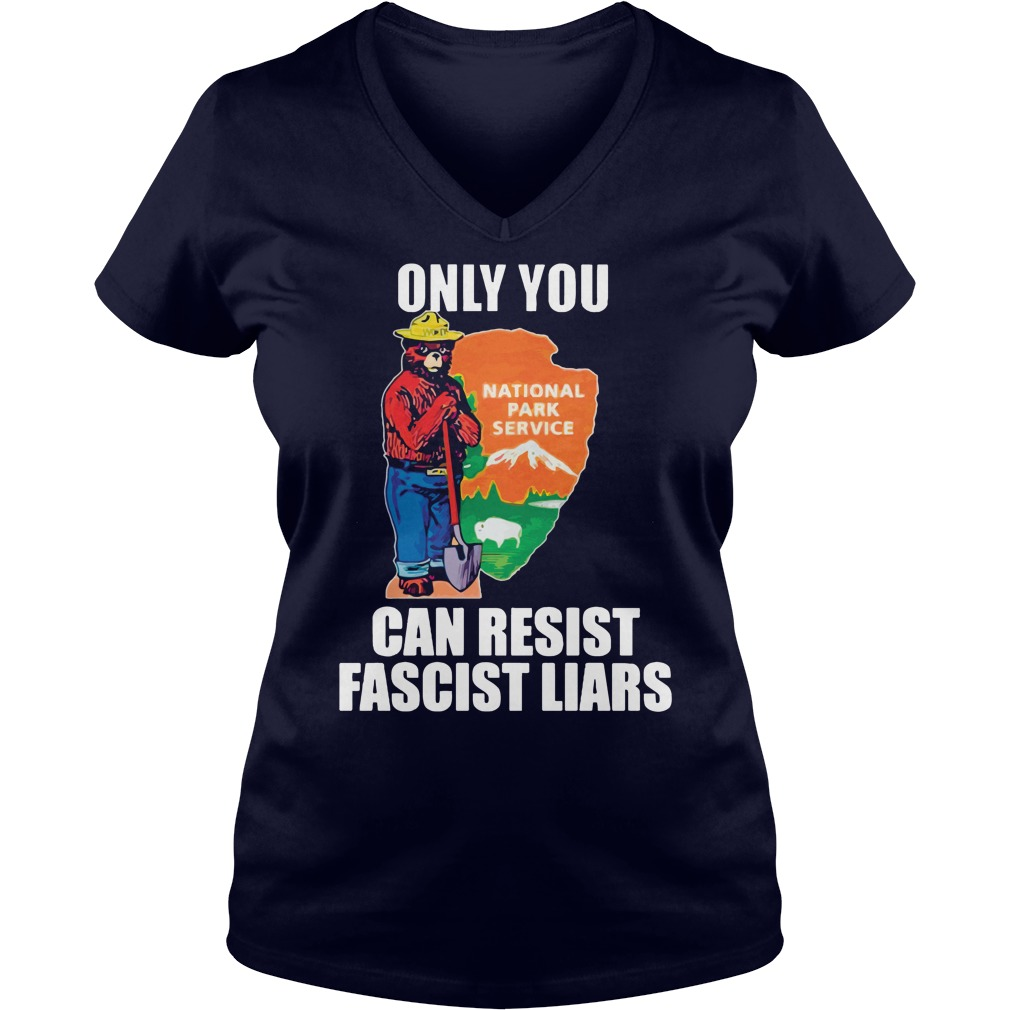 National Park Resistance Fundraiser V Neck