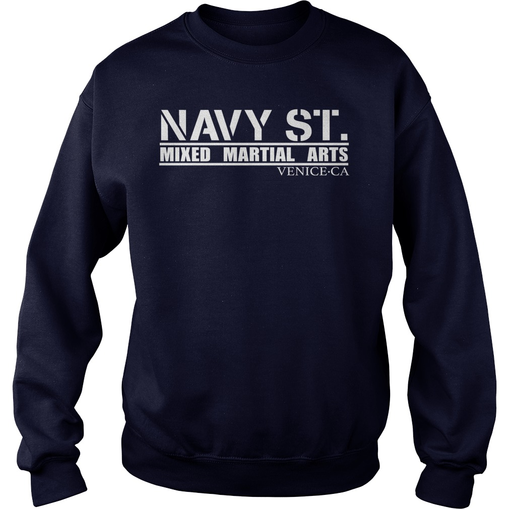 Navy St Mixed Martial Arts Venice Sweat Shirt
