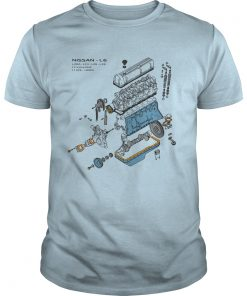 Nissan L6 Exploded View Shirt