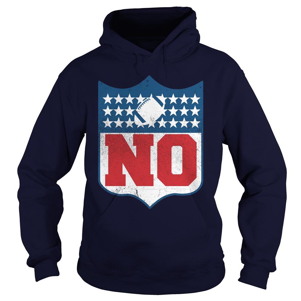 No Boycott The Nfl Colored Hoodie