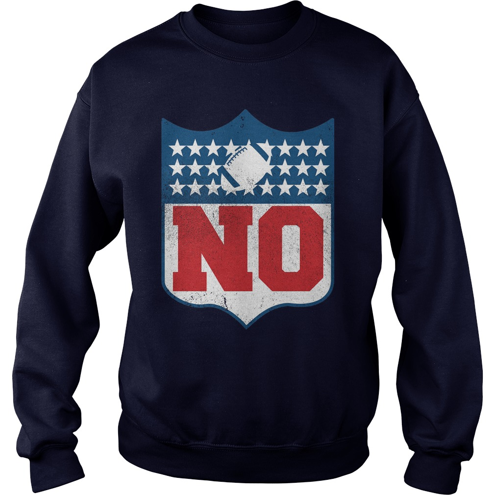 No Boycott The Nfl Colored Sweat Shirt