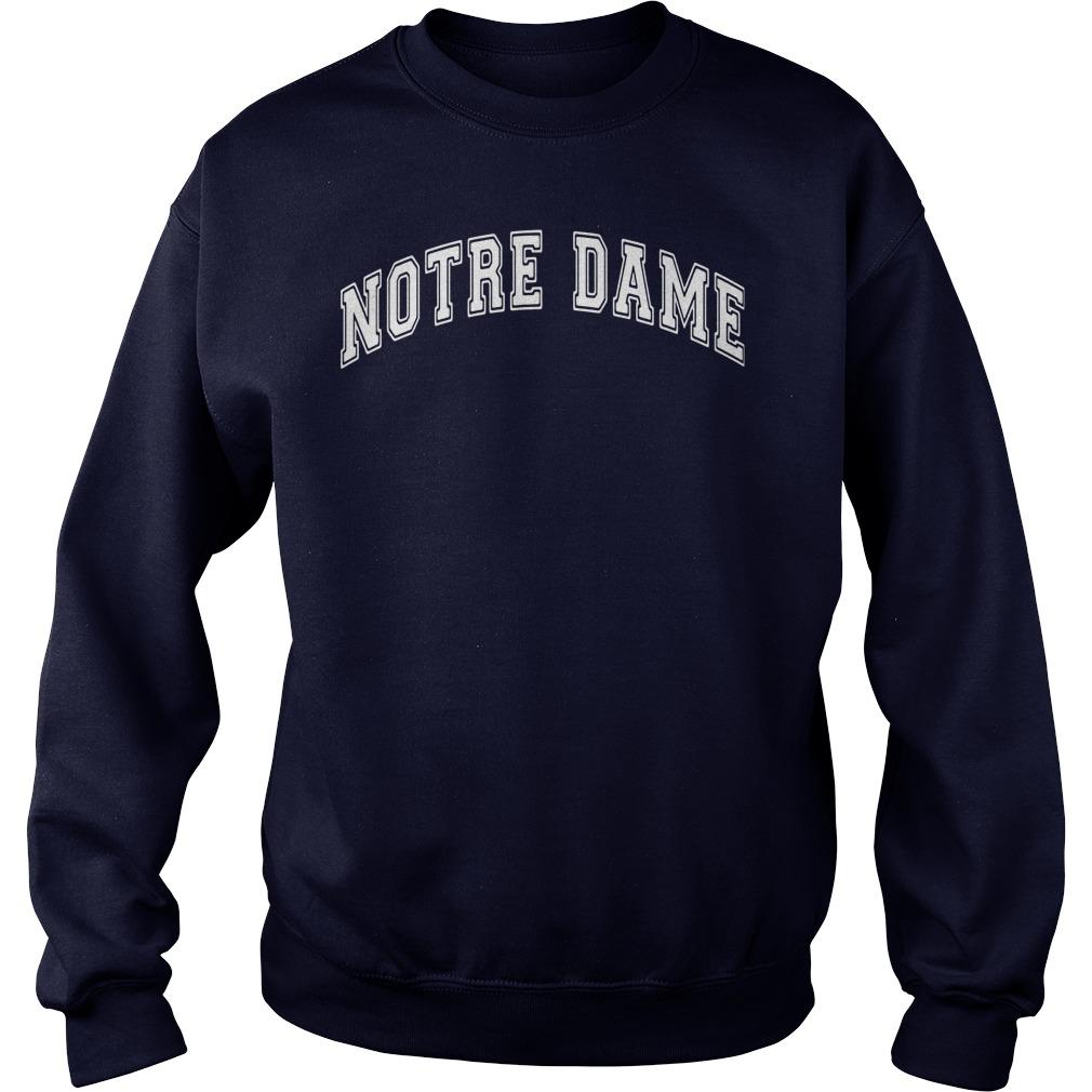 Pat Walsh Notre Dame Sweat Shirt