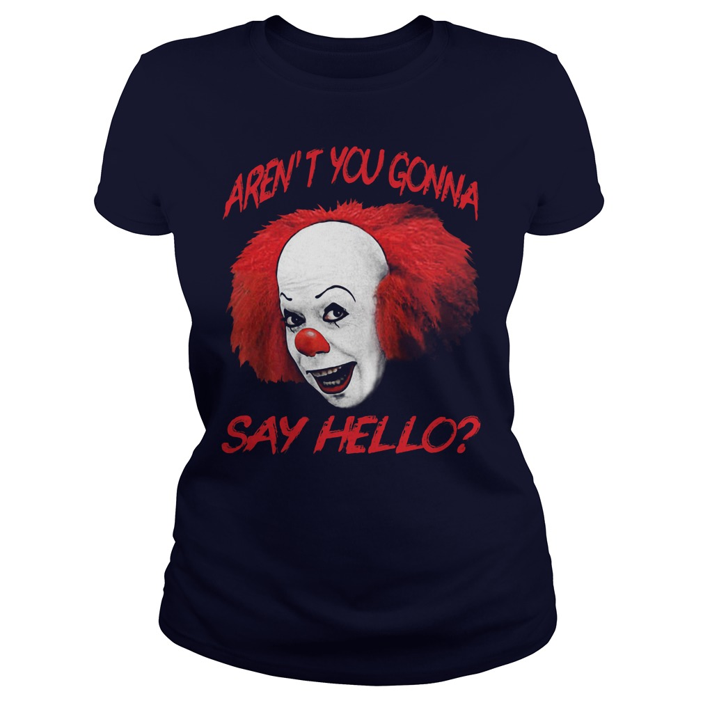 Pennywise Arent Gonna Say Hello Ladies Tee