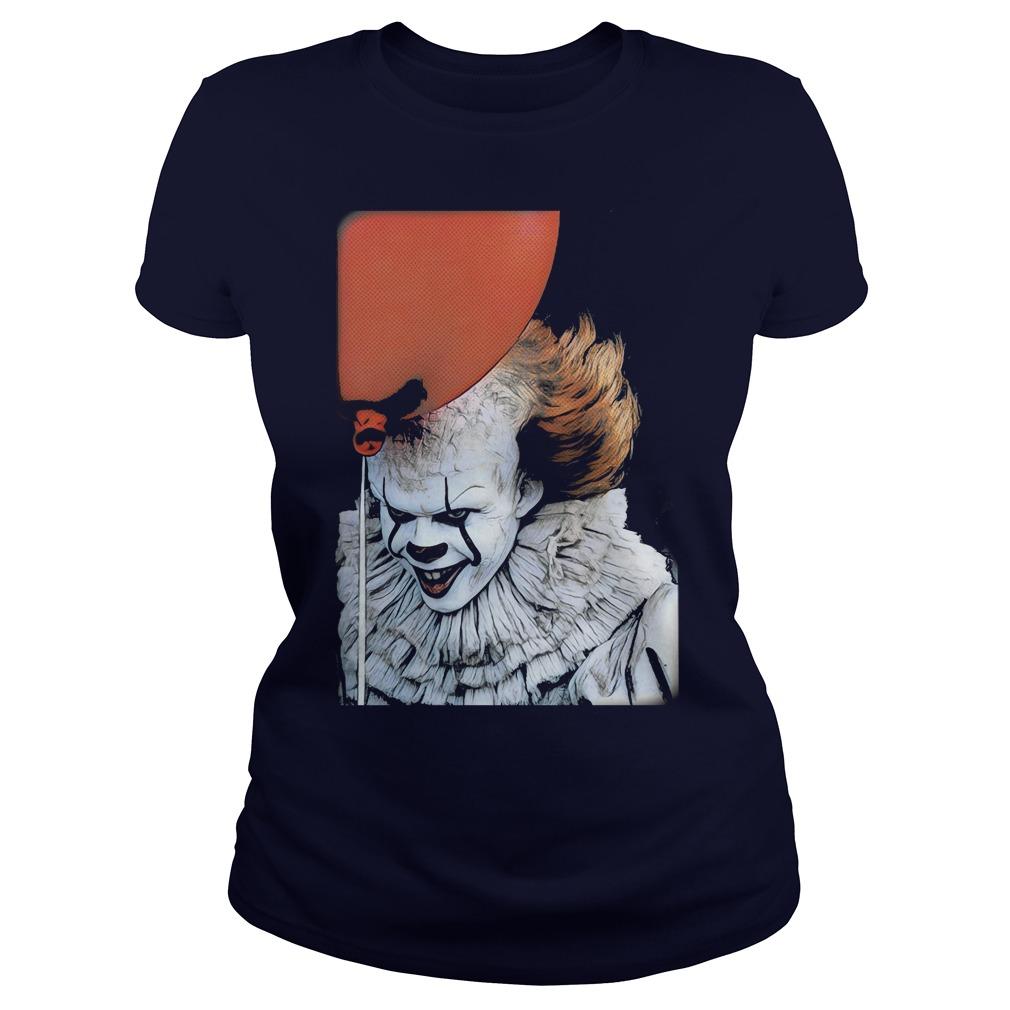Pennywise Clown Ladies Tee