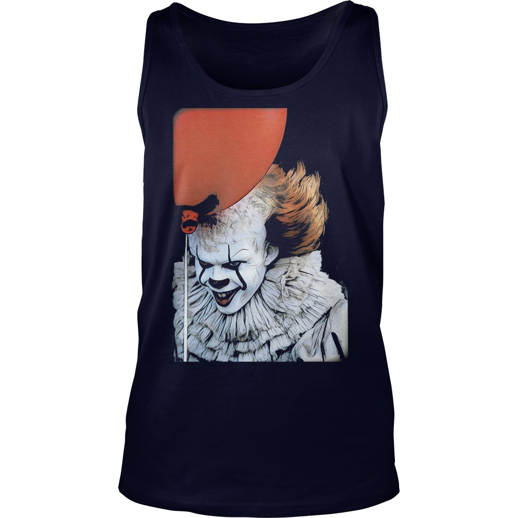 Pennywise Clown Tank Top