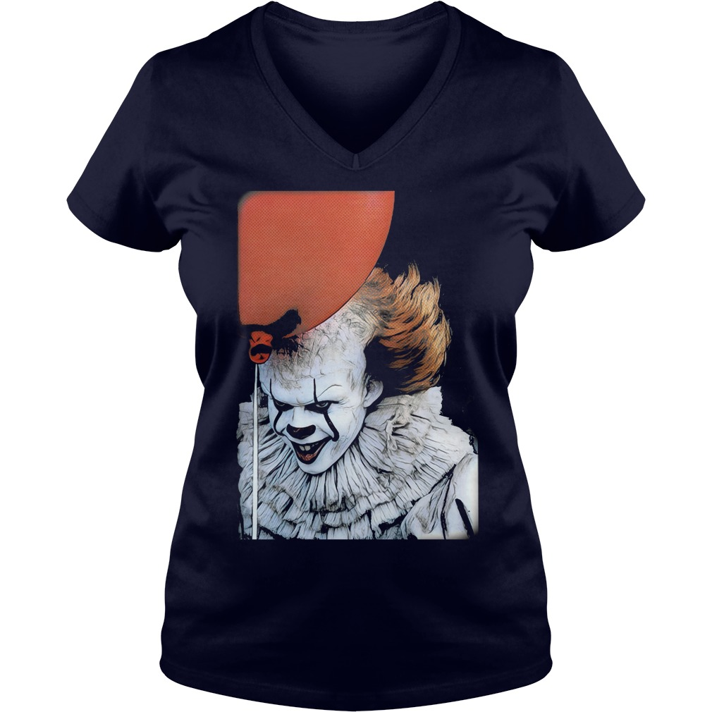 Pennywise Clown V Neck