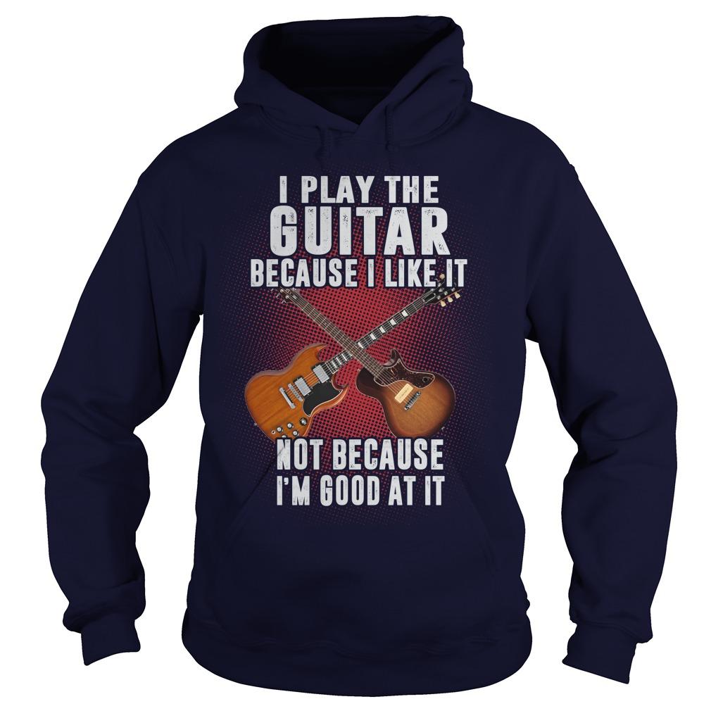 Play Guitar Like Hoodie