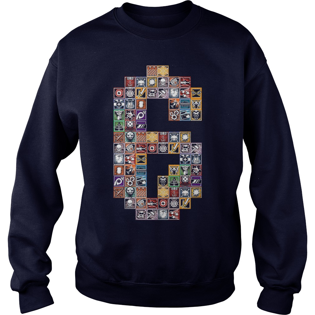 Rainbow 6 Operators Sweat Shirt