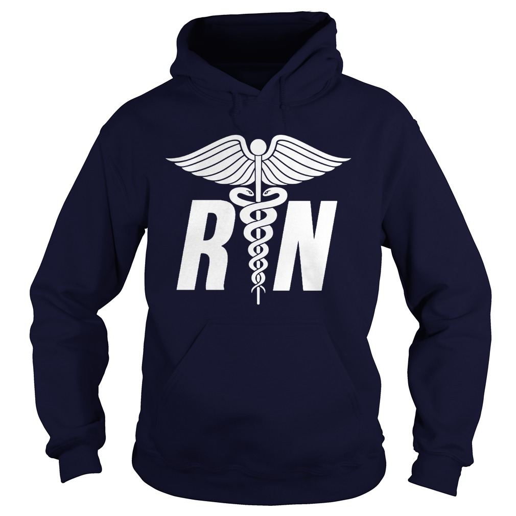 Registered Nurse Symbol Hoodie