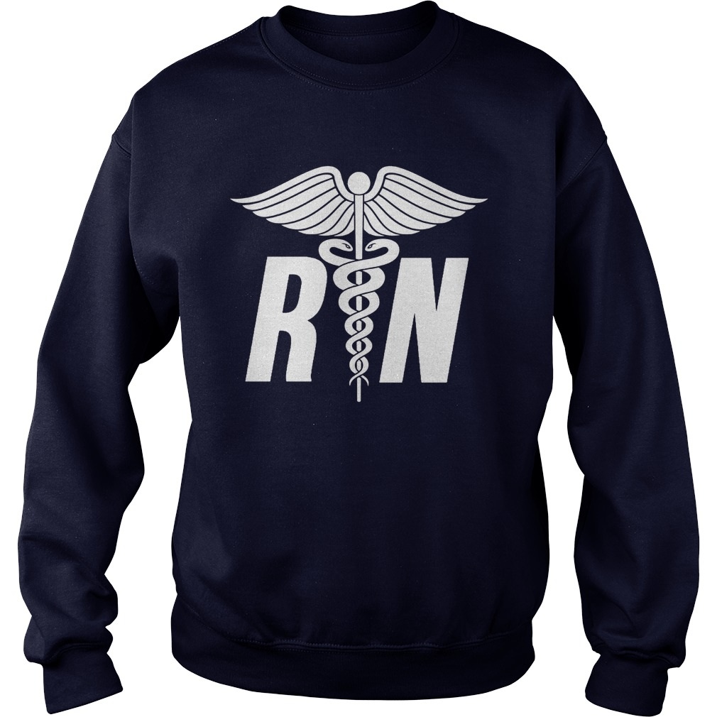 Registered Nurse Symbol Sweat Shirt