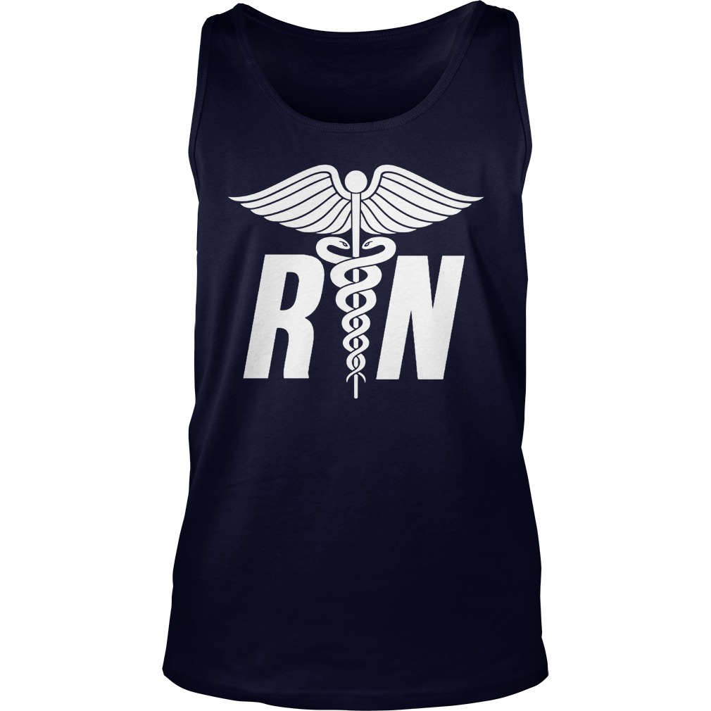 Registered Nurse Symbol Tank Top