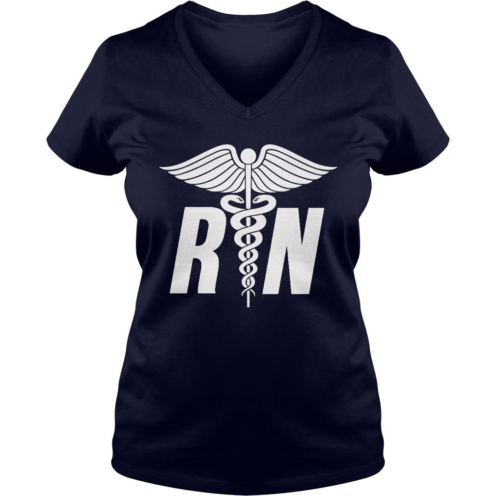 Registered Nurse Symbol V Neck
