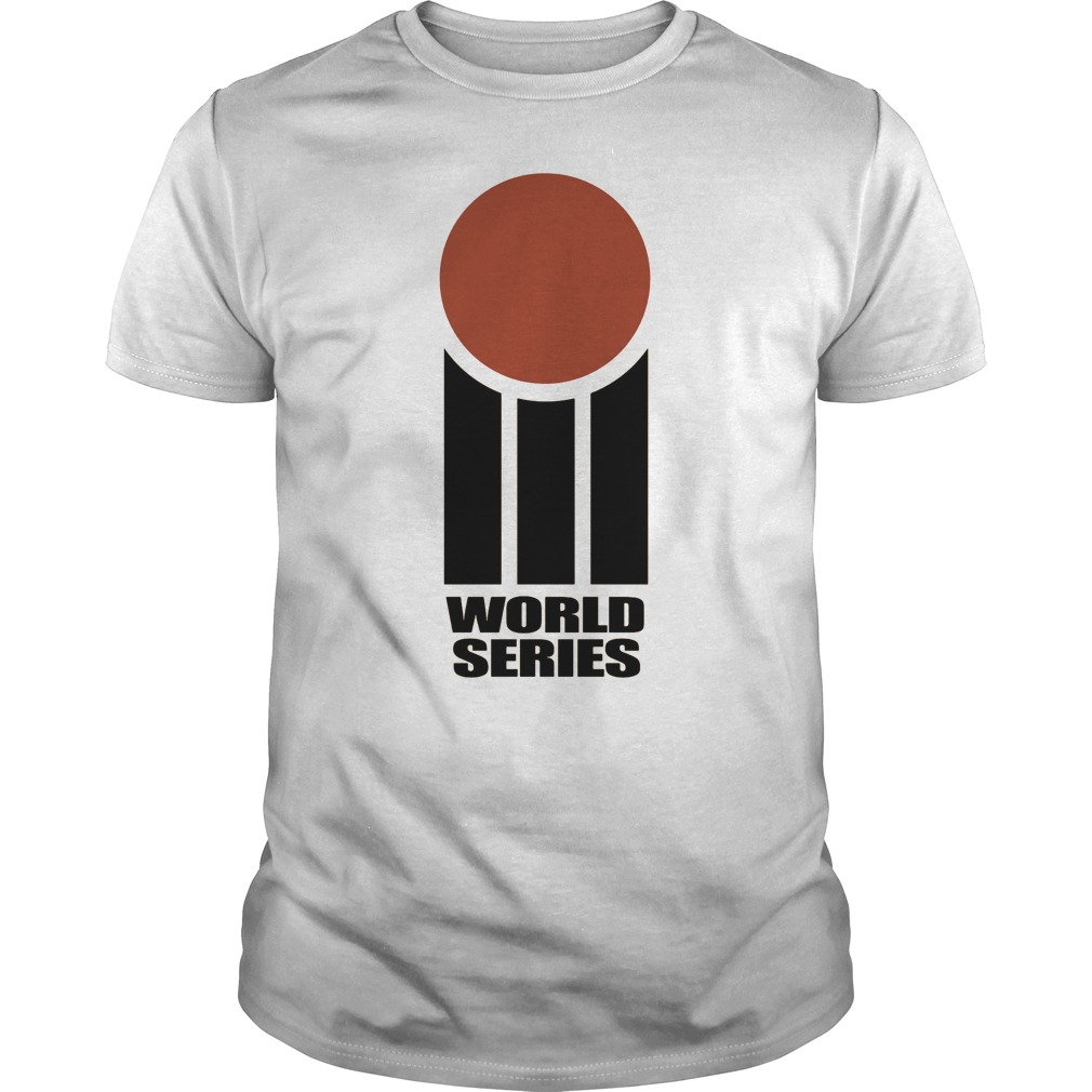 Retro Cricket World Series Guy Tee
