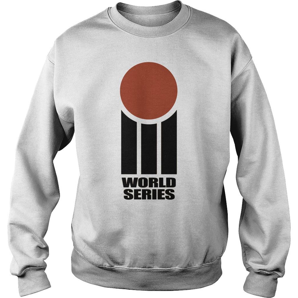 Retro Cricket World Series Sweat Shirt