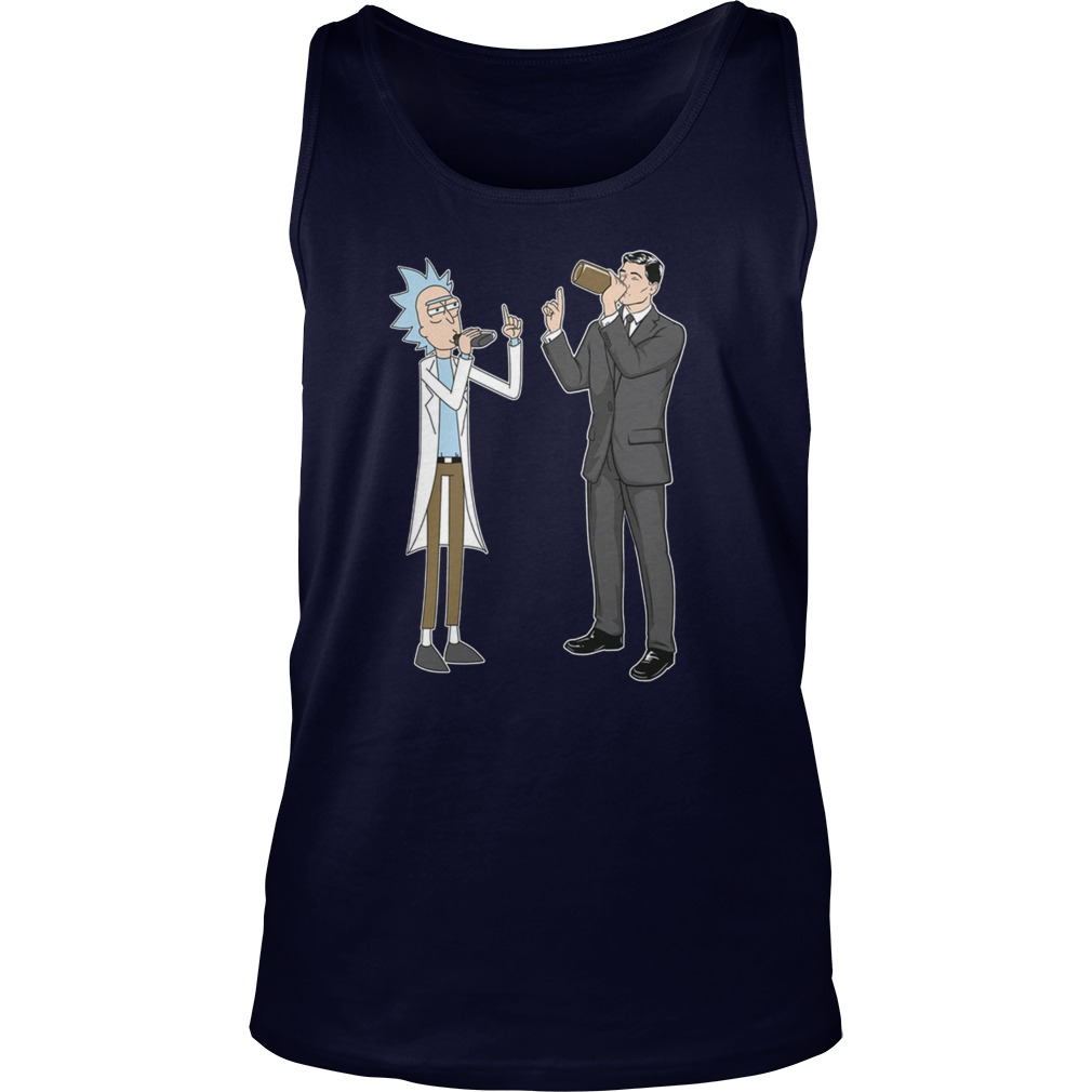 Rick Archer Drink Wine Tank Top