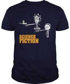 Science Fiction Rick Morty Pulp Fiction Shirt