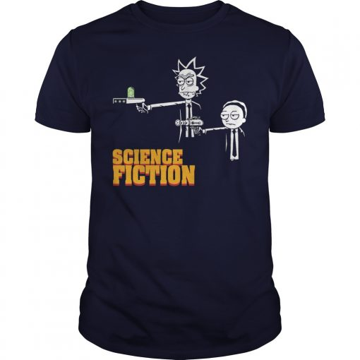 Science Fiction Rick Morty Pulp Fiction Shirt