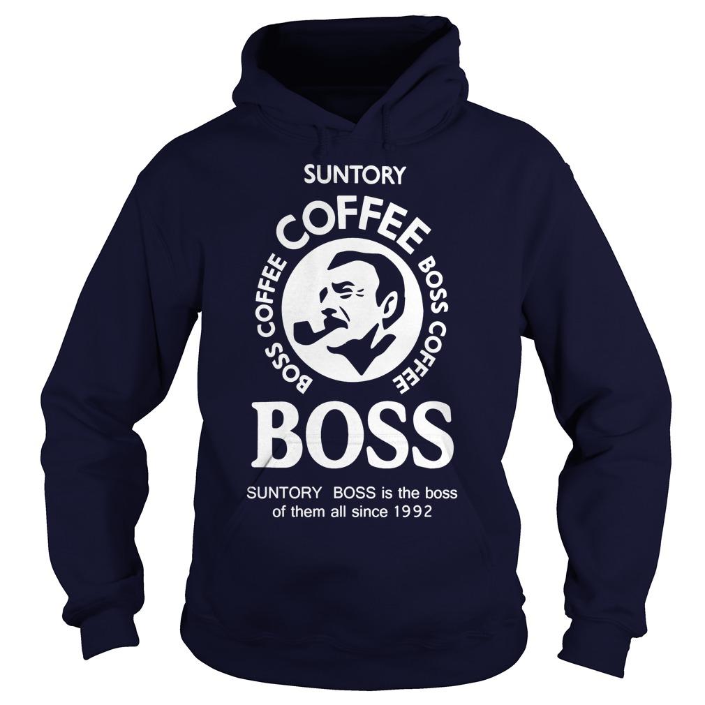 Suntory Boss Coffee Hoodie