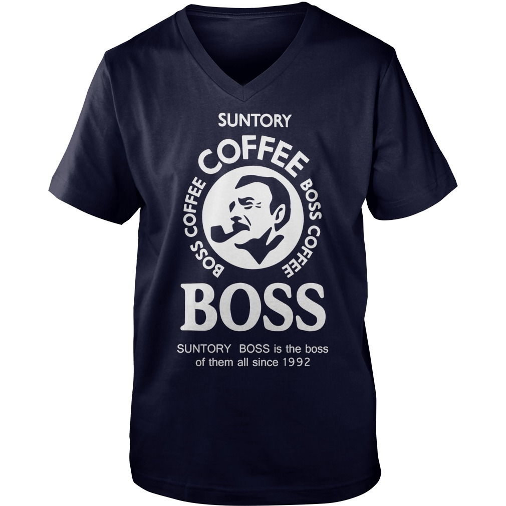 Suntory Boss Coffee V Neck