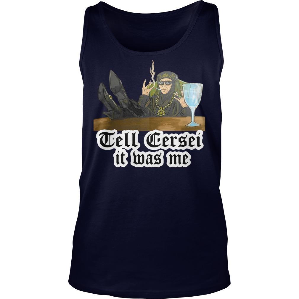 Tell Cersei Mas Tank Top