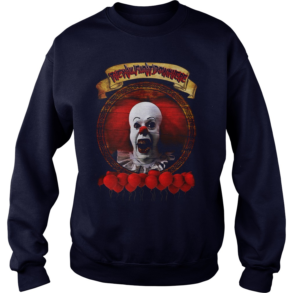 Tim Curry Pennywise Stephen King Sweat Shirt
