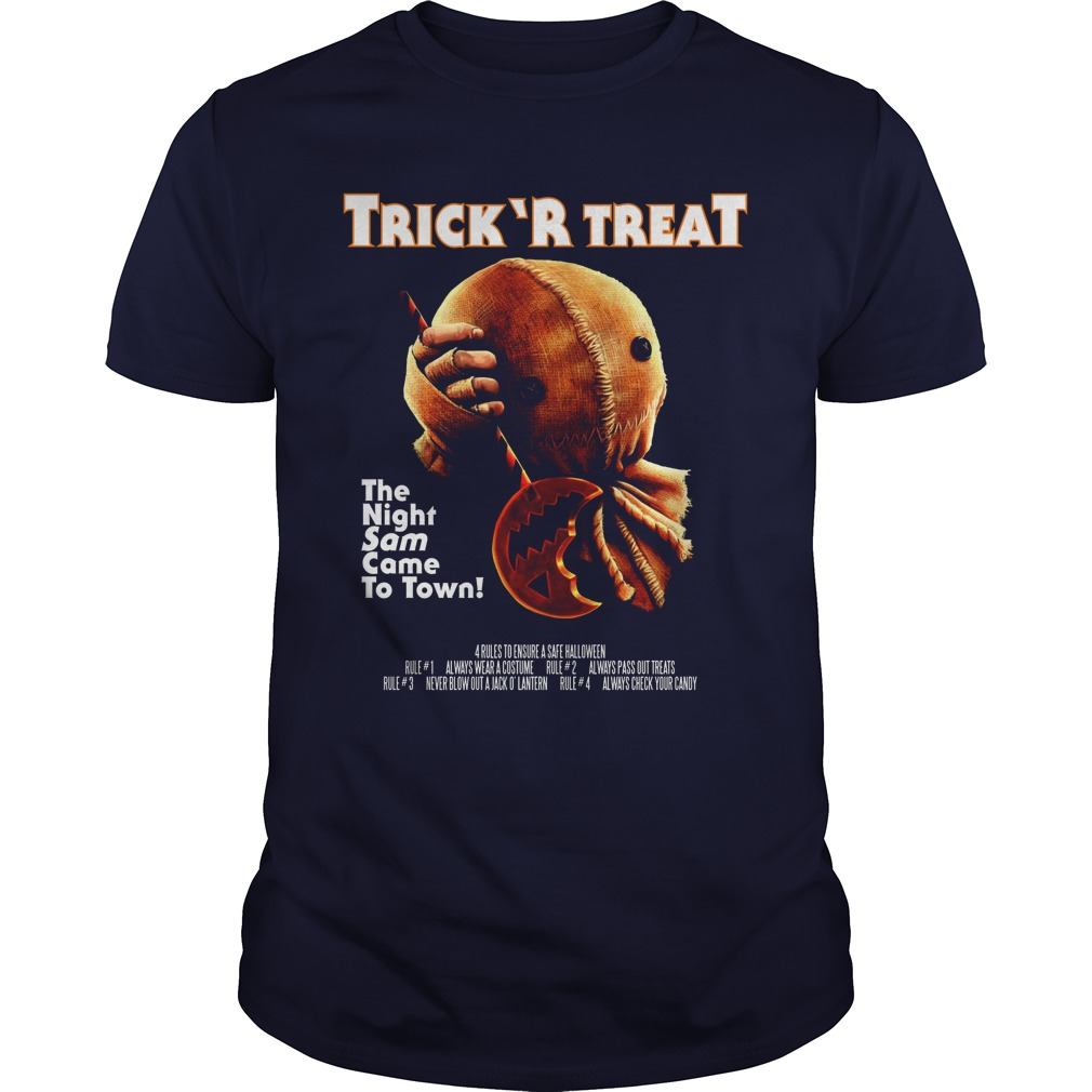Trick R Treat The Night Sam Came To Town Guys Tee