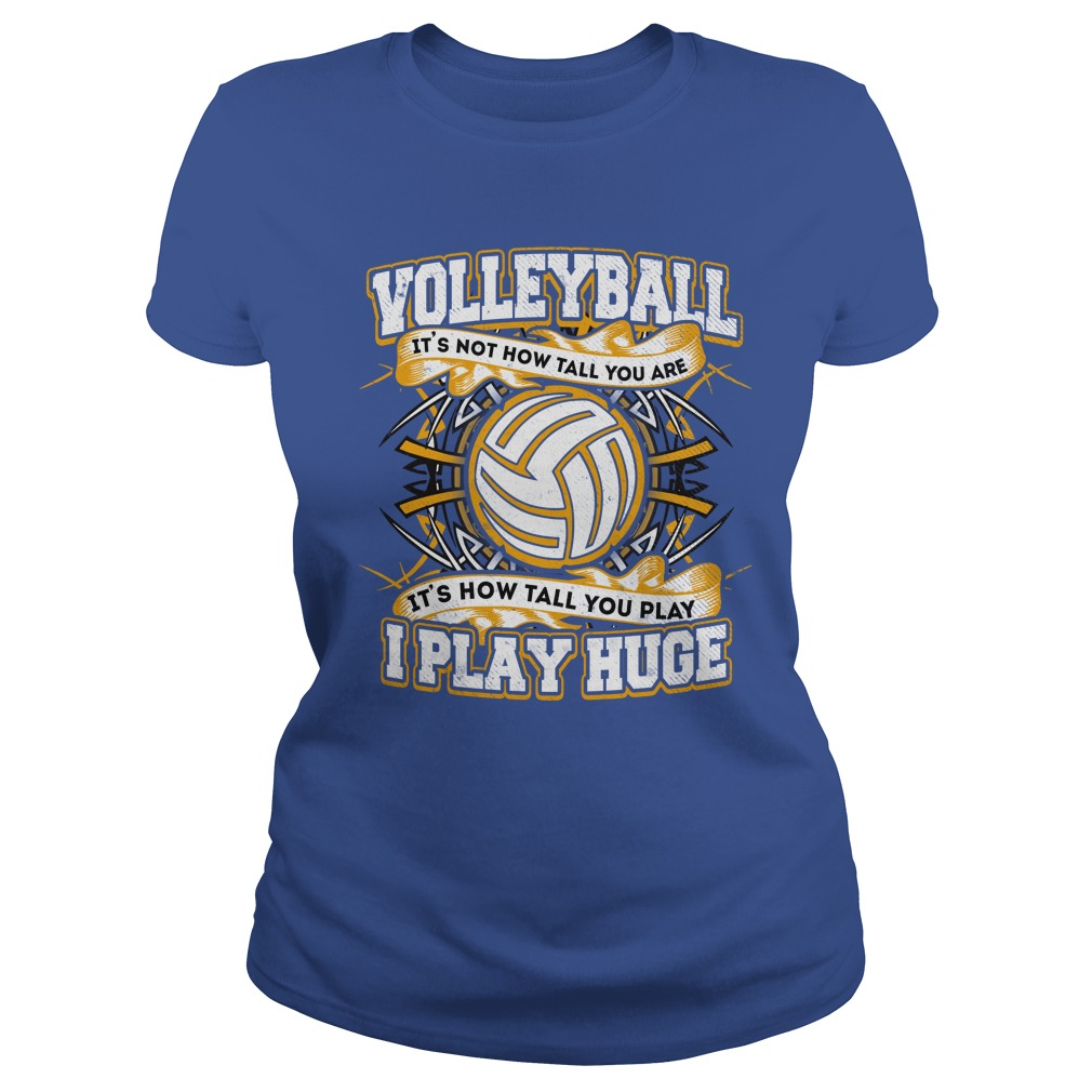 Voolleyball I Play Huge Ladies