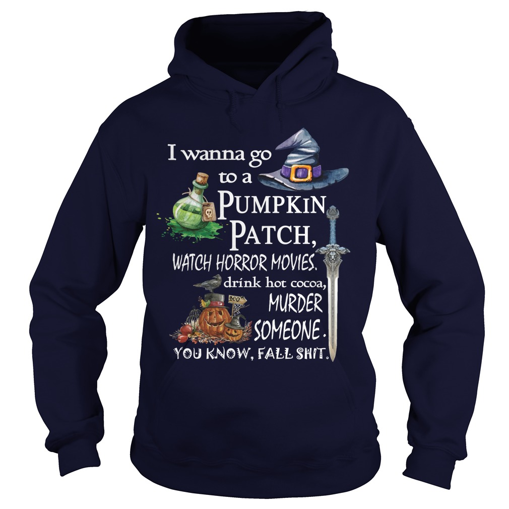 Wanna Go Pumpkin Patch Hoodie