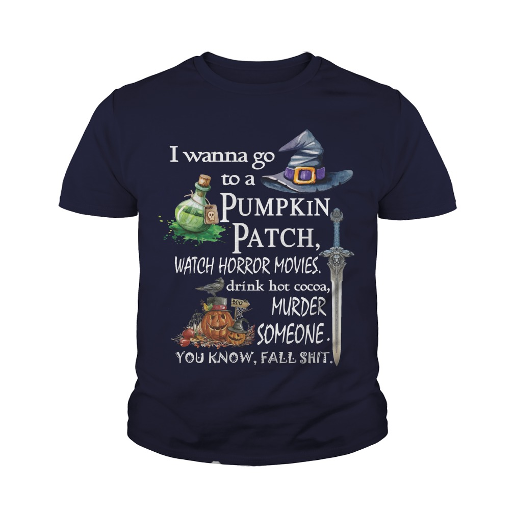 Wanna Go Pumpkin Patch Youth Tee