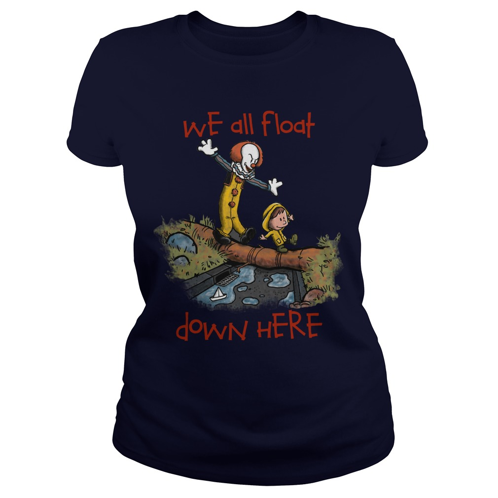 We All Float Ladies Tee