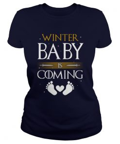 Winter Baby Coming Shirt