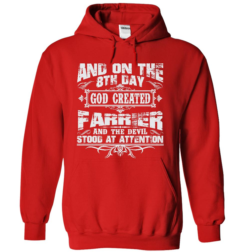 On The 8th Day God Created Farrier And The Evil Stood At Attention Hoodie Sweatshirt