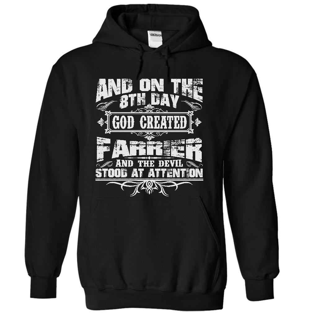 On The 8th Day God Created Farrier And The Evil Stood At Attention Hoodie
