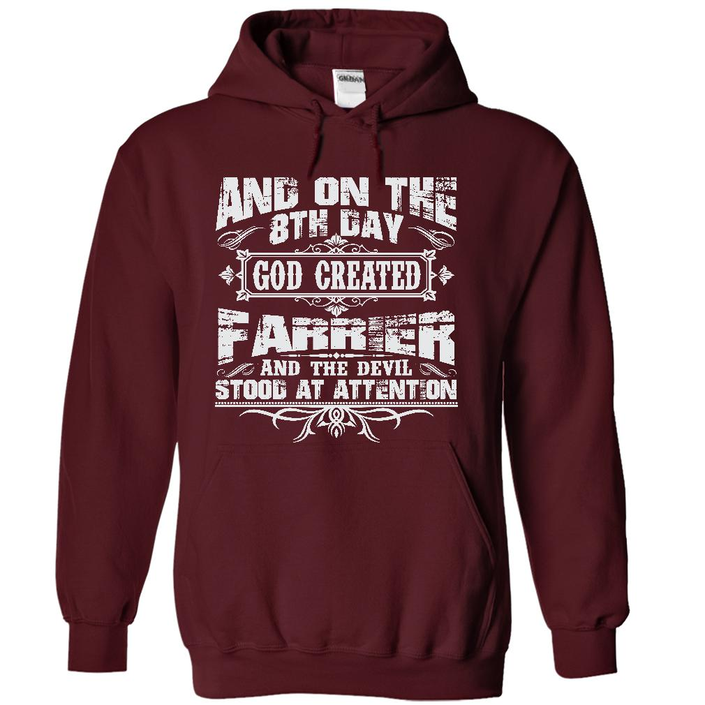 On The 8th Day God Created Farrier And The Evil Stood At Attention Longsleeve T Shirt