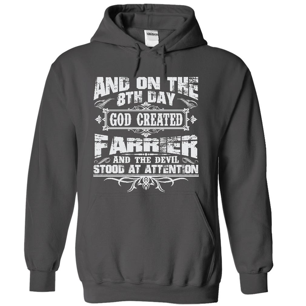 On The 8th Day God Created Farrier And The Evil Stood At Attention V Neck