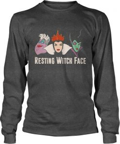 Resting Witch Face Longsleeve Tshirt