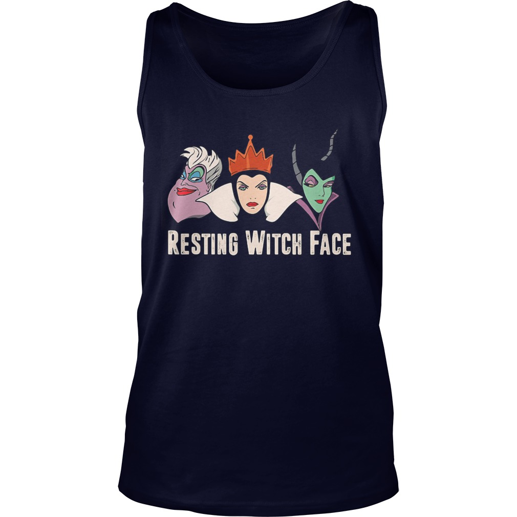 Resting Witch Face Tank Top