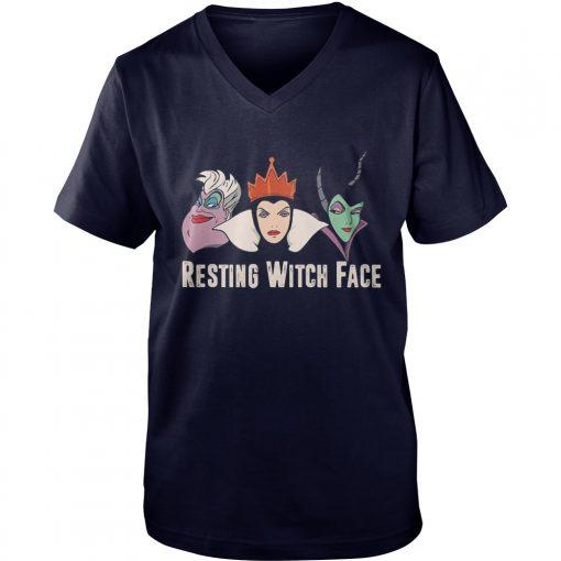 Resting Witch Face V Neck