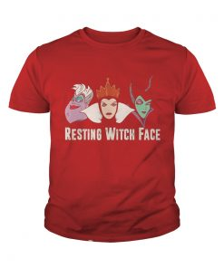 Resting Witch Face Youth Tee