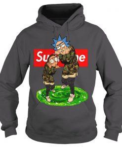 Rick And Morty Supreme Hoodie