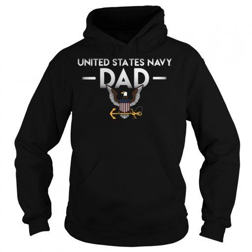 United States Navy Dad Hoodie
