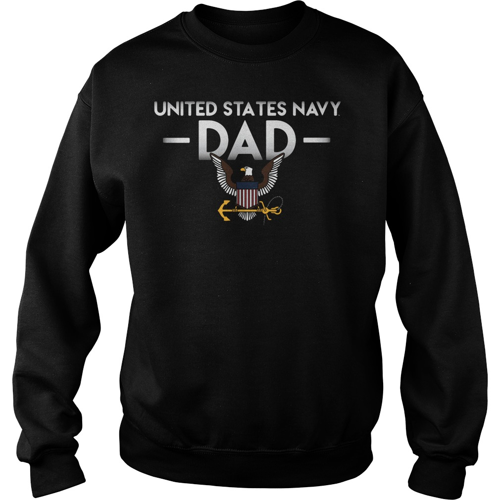 United States Navy Dad Sweater