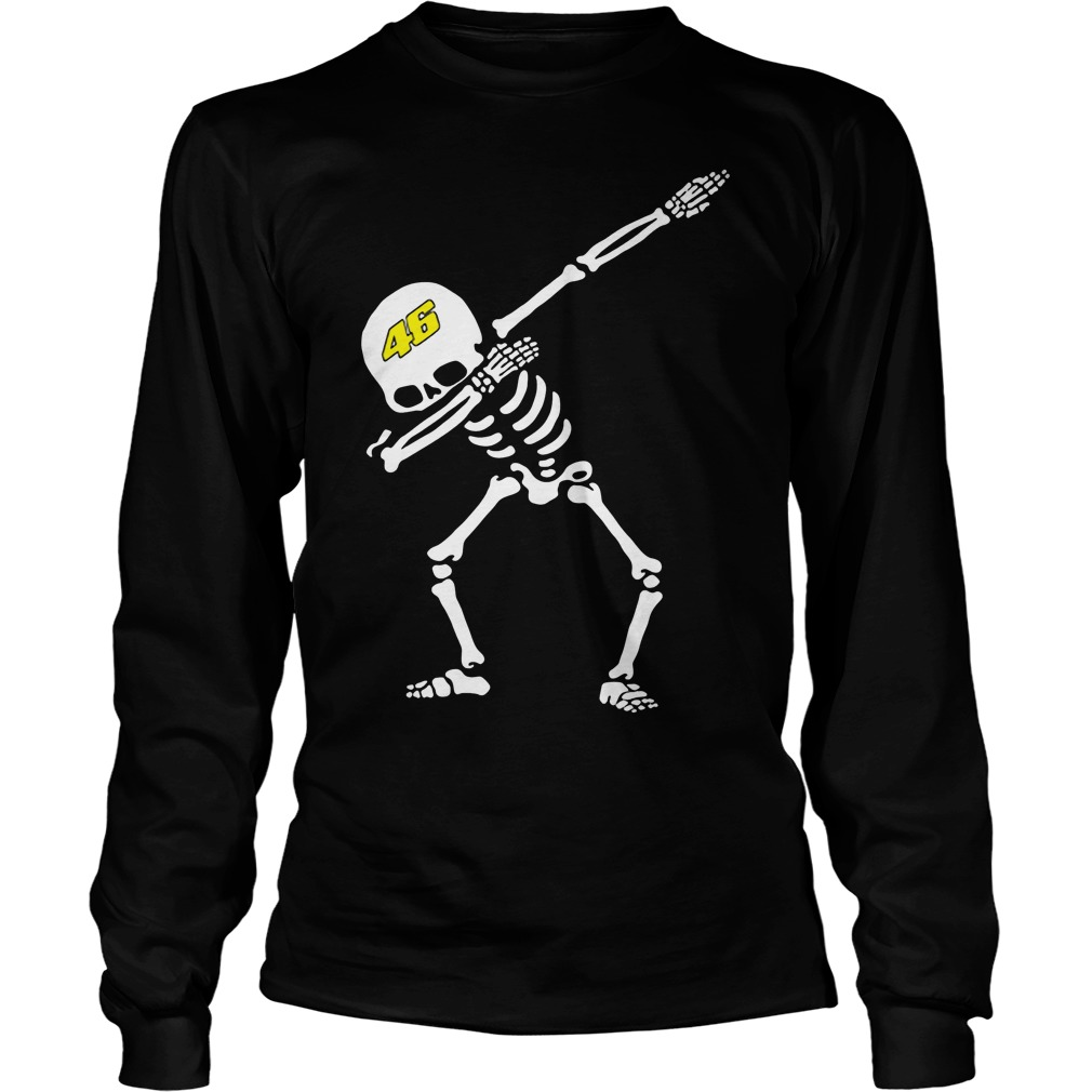 valentino rossi vr46 dabbing skeleton shirt hoodie. Black Bedroom Furniture Sets. Home Design Ideas