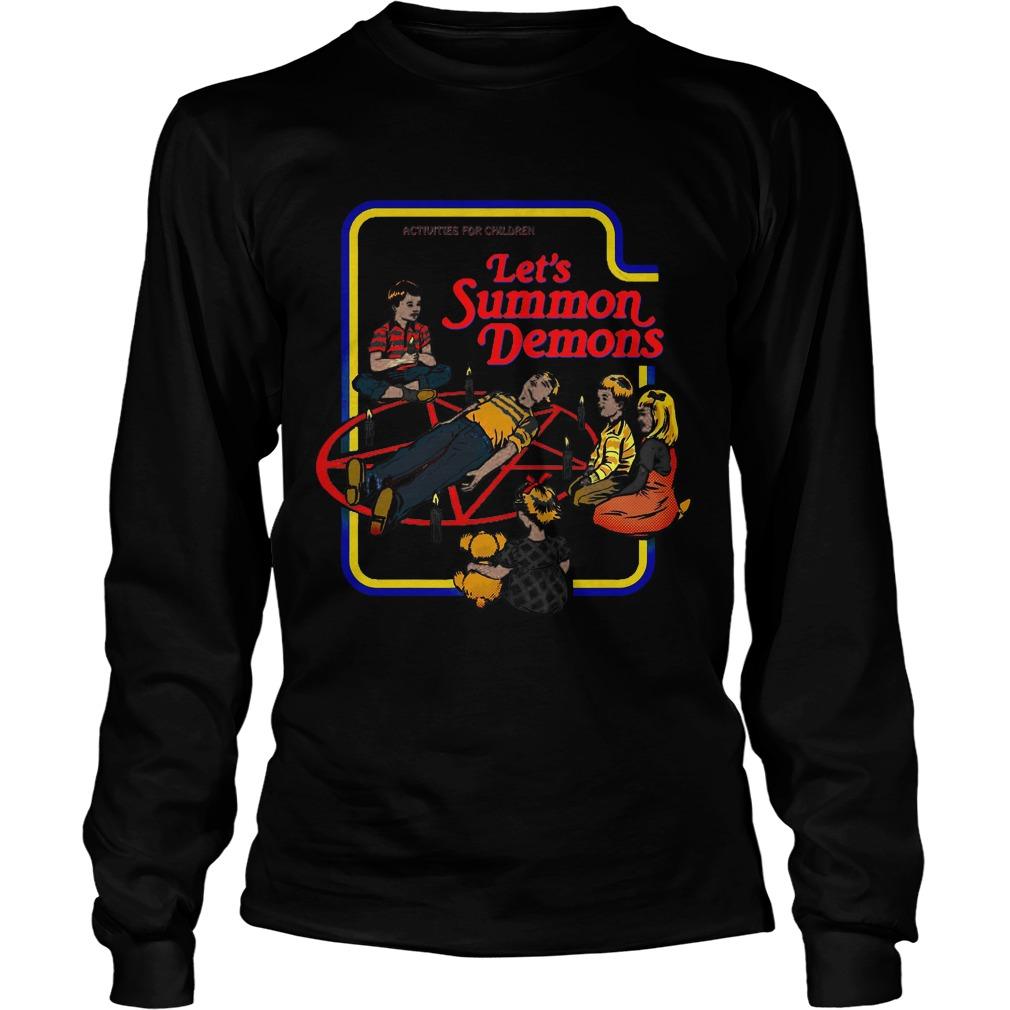 Activities Children Let Summon Demons Shirt Hoodie Sweater Ladies