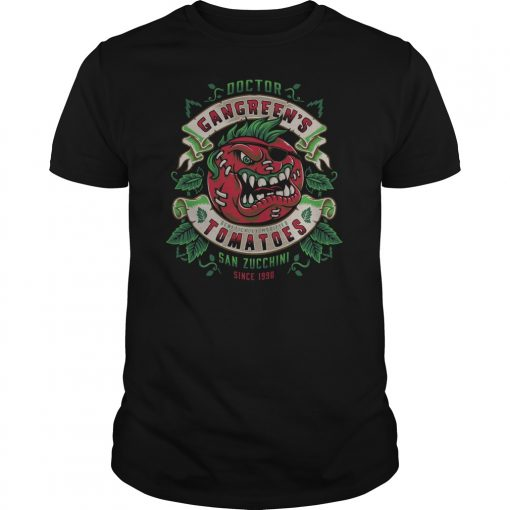 Attack Of The Killer Tomatoes Gangreens Tomatoes Guys Tee